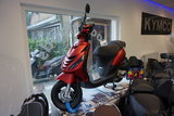 Piaggio Zip 4T Mat Rood SP Black Custom_7