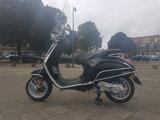 Vespa Sprint Nero Lucido Zwart Chroom Custom_7