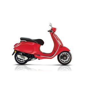 Vespa Sprint Dragon Rosso Rood E4 IGET RIJKLAAR