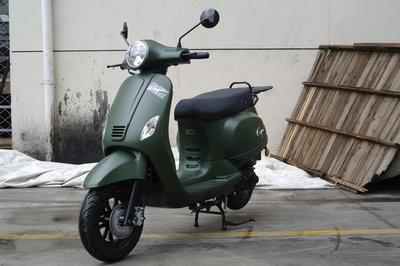 Capri Classic Mat Groen EURO4 injectie Limited Edition