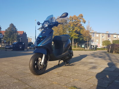 Piaggio Zip SP 4T Midnight Blue Sport Custom