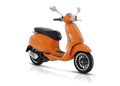 Vespa Sprint Oranje (Orange Pastello) E4 I-GET