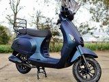 Capri V2s Mat Blauw Paars Kameleon EFI + Windscherm + Kettingslot 180 cm ART 4  - Mat Blue Purple Colorshift E5 Injectie_