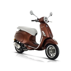 Vespa Primavera 50th Anniversary Marrone mat bruin E4 I-GET