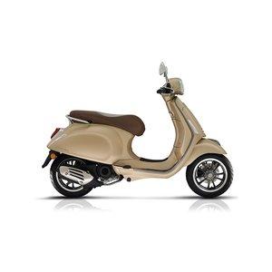 Vespa Primavera S Champagne mat beige E4 I-GET