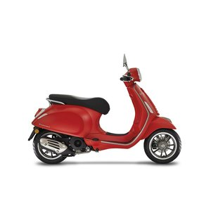Vespa Primavera S Rosso Mat Rood E4 I-GET