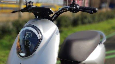 Yadea C-umi mat zilver Elektrische scooter RIJKLAAR